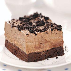 Frozen Chocolate Mint Dessert Recipe Taste Of Home