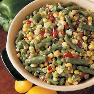 Icebox Vegetable Salad