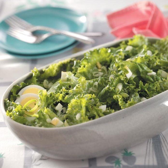 Lettuce: Simple Lettuce Salad