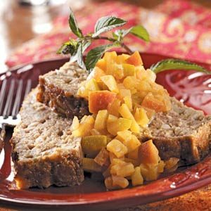 Curry-Apple Turkey Loaf