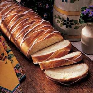 Lemon Cheese Braid Bread