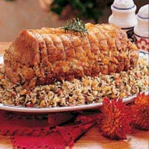 Rice-Stuffed Roast