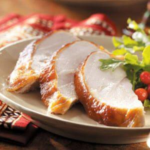 Apricot-Glazed Turkey Breast