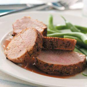 Cherry-Glazed Pork Tenderloin
