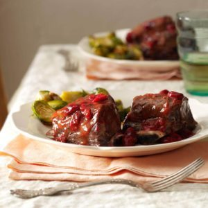 Cranberry Short Ribs