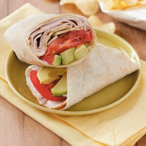 Ranch Turkey Wraps for 2