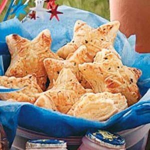Puff Pastry Stars