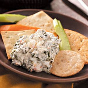 Spinach & Crab Dip