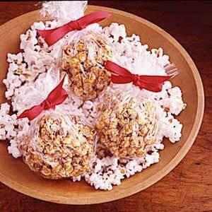 Old-Time Popcorn Balls