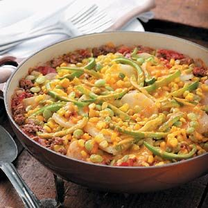Harvest Hamburger Casserole