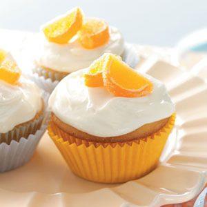 Orange Date Cupcakes