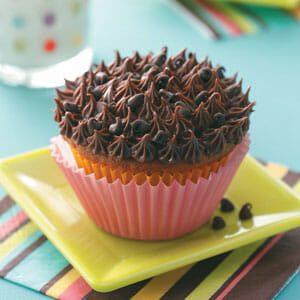 Cookie Dough Cupcakes with Ganache Frosting