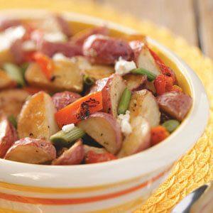 Roasted Potato Salad with Feta