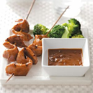 Grilled Pork Tenderloin Satay