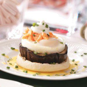 Eggplant Eggs Benedict