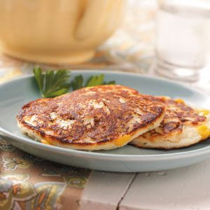 Potato Pancakes with Corn