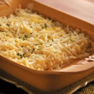 Swiss-Onion Potato Bake
