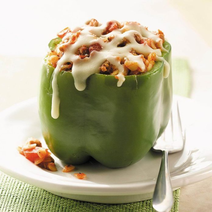Day 20: Stuffed Peppers