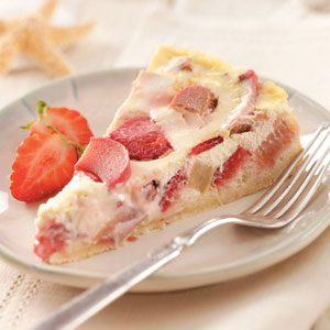 Rhubarb Berry Tart
