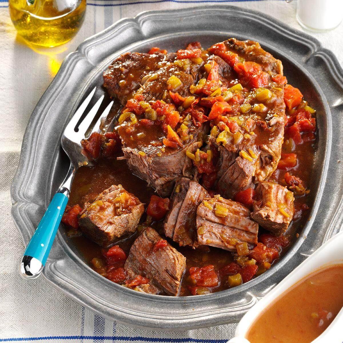Tasty Dinner Ideas Recipes: Lone Star Pot Roast Recipe