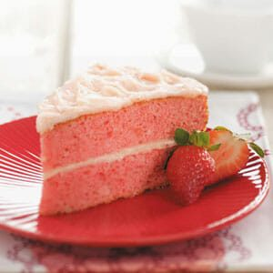 Makeover Strawberry Cake