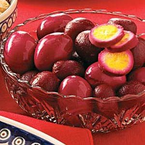 Pickled Eggs with Beets