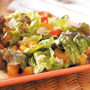 Red Leaf and Mandarin Salad