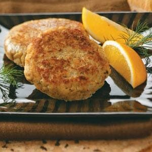 Dilly Salmon Patties