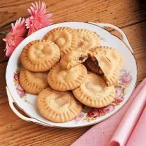 Lemon Raisin Filled Cookies