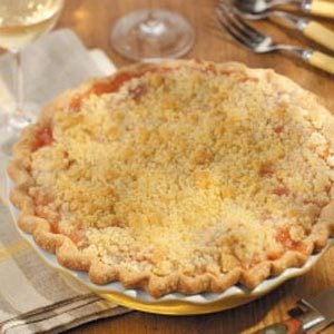 Deep Dish Georgia Peach Pie