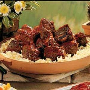 Barbecued Beef Short Ribs