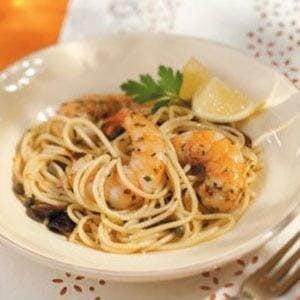 Lemon Seafood Pasta