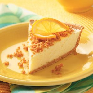 Lemon Cheesecake Pies