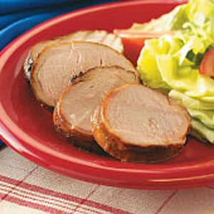 Honey-Grilled Pork Tenderloin