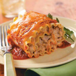 Favorite Lasagna Roll-Ups