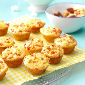 Bacon-Cheese Biscuit Bites