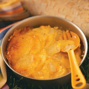 Briquette Scalloped Potatoes