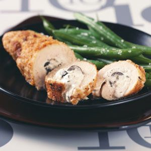 Creamy Olive-Stuffed Chicken
