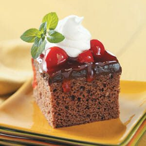 Light Black Forest Dessert
