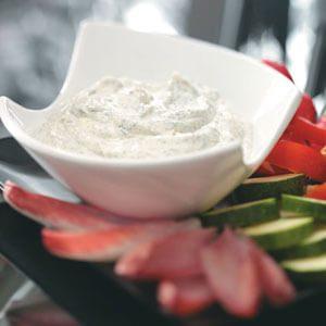 Quick Creamy Dill Dip