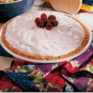 Raspberry Mallow Pie