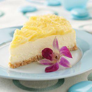 Pina Colada Cheesecake