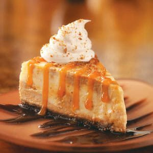 Deluxe Pumpkin Cheesecake