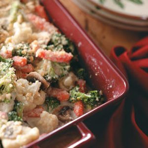 Vegetable Swiss Casserole