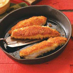 Crisp Cajun Panfish