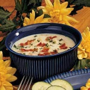 Microwave Clam Chowder