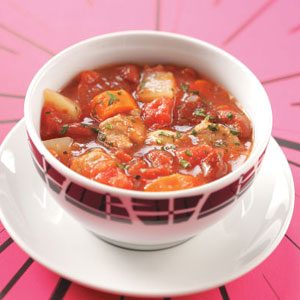 Pork Vegetable Soup