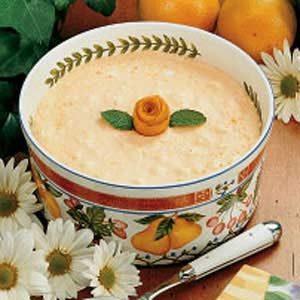 Orange Buttermilk Gelatin Salad