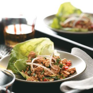 Chicken Lettuce Cups