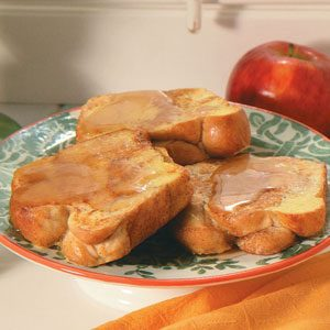 Cinnamon Marble Loaf French Toast